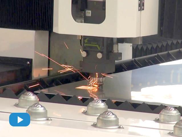 布洛尔光纤激光切割机1530试机视频