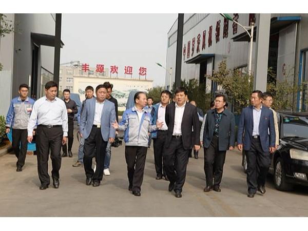 章丘区委副书记、区长韩伟一行莅临山东布洛尔智能科技有限公司调研